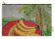 Bananas On A Plate Carry-all Pouch