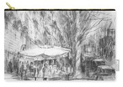 Bancarelle In Via Nomentana Rome Carry-all Pouch