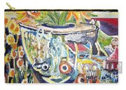 Band 4 Sunflowers Three Carry-all Pouch
