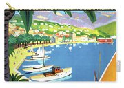 Bandol, French Riviera, Boats On Port Carry-all Pouch