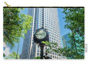 Bank Of America Corporate Center In Charlotte, Nc Carry-all Pouch