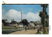 Banks Of The Oise At Pontoise Carry-all Pouch