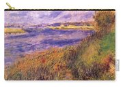 Banks Of The Seine At Champrosay Carry-all Pouch