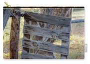 Bannack Gate At Sunrise Carry-all Pouch