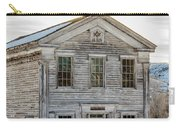 Bannack Schoolhouse And Masonic Temple Carry-all Pouch