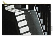 Bannister And Shadows Carry-all Pouch