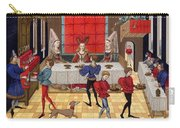 Banquet, 15th Century Carry-all Pouch