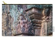 Banteay Srey Temple Bas Relief Details Carry-all Pouch