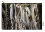 Banyan Grows Over Statue Carry-all Pouch