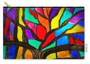 Banyan Tree Abstract Carry-all Pouch