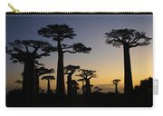 Baobab Forest At Sunset Carry-all Pouch
