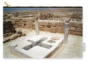 Baptistery Eastern Church Mamshit Israel Carry-all Pouch