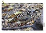Bar-backed Partridge 2 Carry-all Pouch