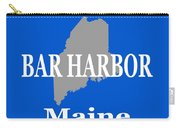 Bar Harbor Maine City And Town Pride  Carry-all Pouch