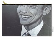 Barack Obama Carry-all Pouch by Richard Le Page
