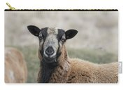 Barbados Blackbelly Sheep Portrait Carry-all Pouch