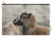 Barbados Blackbelly Sheep Profile Carry-all Pouch