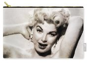Barbara Nichols, Vintage Actress By John Springfield Carry-all Pouch