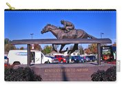 Barbaro Statue At Churchill Downs Carry-all Pouch