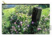 Barbed Wire And Roses Carry-all Pouch