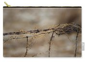 Barbed Wire Entwined With Dried Vine In Autumn Carry-all Pouch