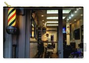 Barber Shop At Closing Time Carry-all Pouch