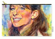 Barbra Streisand Young Portrait Carry-all Pouch