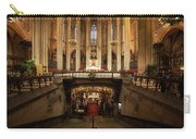 Barcelona Cathedral High Altar And St Eulalia Crypt Carry-all Pouch
