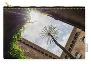 Barcelona Courtyard With Palm Tree Carry-all Pouch