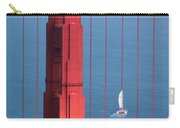 Barcode Of The Bay Scanned With Sails On A Beautiful Day Carry-all Pouch