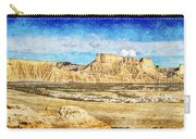 Bardenas Desert Panorama 3 - Vintage Version Carry-all Pouch