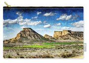 Bardenas Desert Panorama 4 - Vintage Version Carry-all Pouch