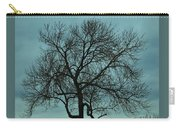 Bare Branches And Storm Clouds Carry-all Pouch