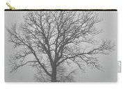 Bare Tree In Fog Carry-all Pouch