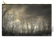 Bare Trees In A Winter Sunset Carry-all Pouch