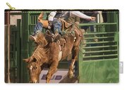 Bareback Riding At The Wickenburg Senior Pro Rodeo Carry-all Pouch