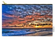 Barefoot Beach Sunset Carry-all Pouch
