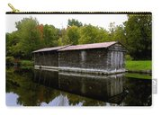 Barge House On The Erie Canal Carry-all Pouch