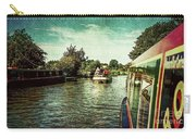 10946 Cruising On The Grand Union Canal Carry-all Pouch