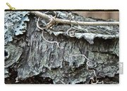 Bark - Lichen - Cat Brier Tendrils Carry-all Pouch