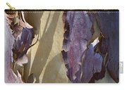 Bark Texture Carry-all Pouch