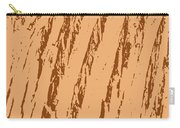 Bark Texture Orange Carry-all Pouch