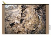 Bark-vision On Abstraction Theme  Carry-all Pouch