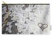 Bark With Heart Carry-all Pouch
