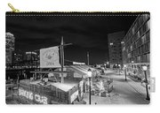 Barking Crab Boston Ma Black And White Carry-all Pouch
