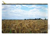 Barley And Sky In Oulu, Finland. Carry-all Pouch