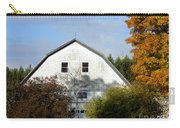 Barn And Basketball Court Carry-all Pouch