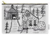 Barn And Sheep Carry-all Pouch
