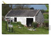 Barn At Fuerty Church Roscommon Ireland Carry-all Pouch