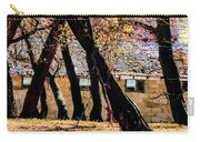 Barn Behind Trees Carry-all Pouch